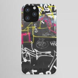 New York Traces - Urban Graffiti iPhone Case