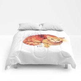Ginger Cat Comforters