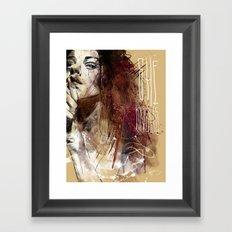 about women Framed Art Print