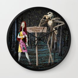 Halloween Town | Jack | Sally | Christmas | Nightmare Wall Clock