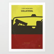No691 My Collateral minimal movie poster Art Print