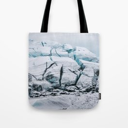 Glacial World of Iceland - Landscape Photography Tote Bag