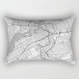 Ottawa Map Line Rectangular Pillow