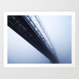 Foggy Lift #2 Art Print