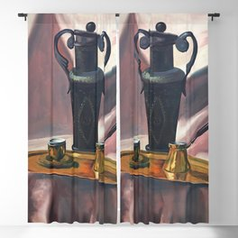 Peaceful nature #Oil #on #canvas Blackout Curtain