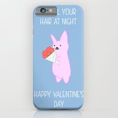 Sniff your hair on Valentine's iPhone 6 Slim Case