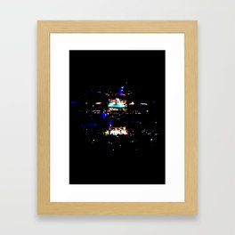 Opening Round Framed Art Print
