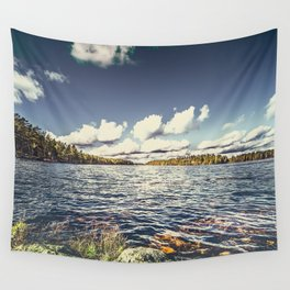 End of the road Wall Tapestry