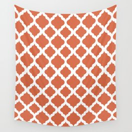 Red rombs Wall Tapestry