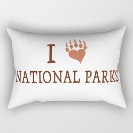I LOVE NATIONAL PARK Rectangular Pillow