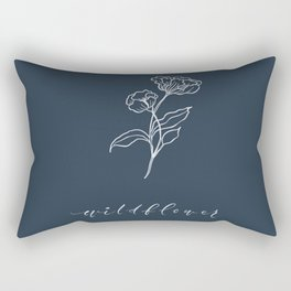 W I L D F L O W E R Rectangular Pillow
