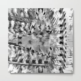 Colourless feathermal Metal Print
