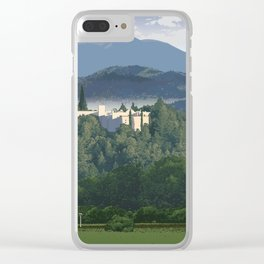 Napa Valley - Sterling Vineyards, Calistoga District Clear iPhone Case
