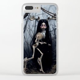 Wendigo in the Woods Clear iPhone Case