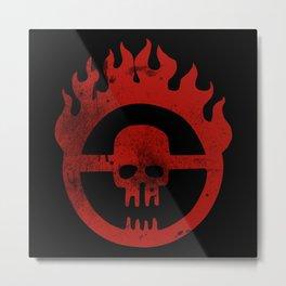 War Boys - Dirty Logo Metal Print