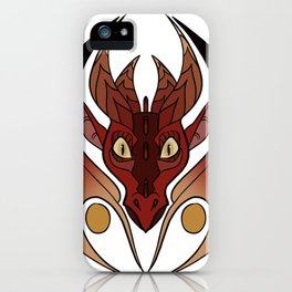 Juno - Western Dragon iPhone Case