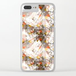 Abstraction. The strokes of paint. 1 Clear iPhone Case