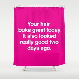 Your Hair Shower Curtain