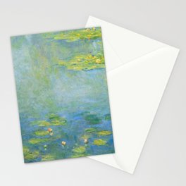 """Claude Monet """"Water Lilies"""" (10) Stationery Cards"""