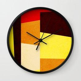Formas 21 Wall Clock