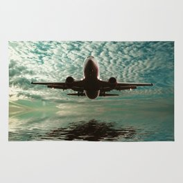 Flight path  Rug