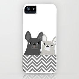 Dog friends iPhone Case