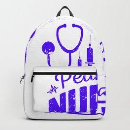 Pediatric Nurses Cuddle Better - Nurse Design Backpack