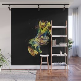 Dance of the paints Wall Mural