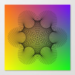 Spirograph Canvas Print