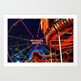 Coney Island, Baby Art Print