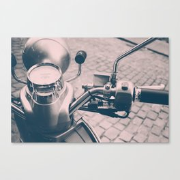 Vespa Scooter Canvas Print