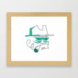 The Detective Framed Art Print