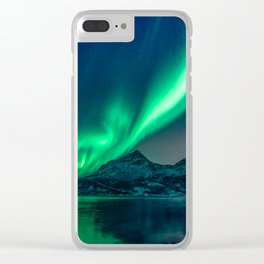 Aurora Borealis (Northern Lights) Clear iPhone Case