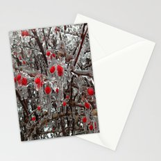 Frozen Berries Stationery Cards