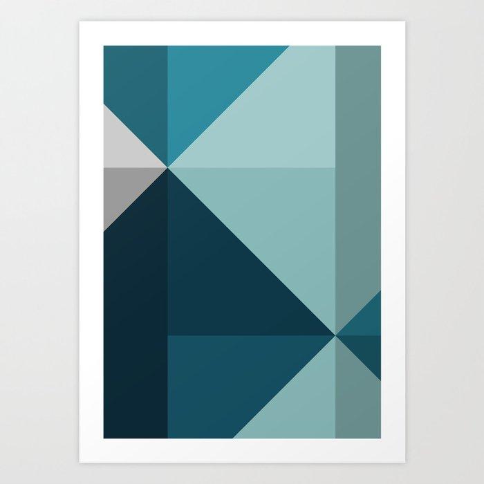 Geometric 1701 Art Print
