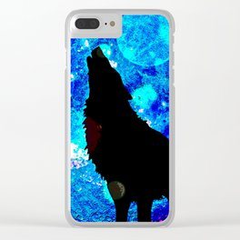Wolf #1 Clear iPhone Case