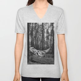 BETWEEN TREES Unisex V-Neck