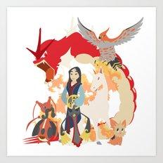 Team Mulan Art Print