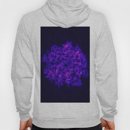 Queen Anne's Lace in Blue and Purple Hoody
