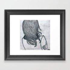 Hibernate. Framed Art Print