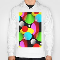 balloons Hoodies featuring Balloons by Artisimo