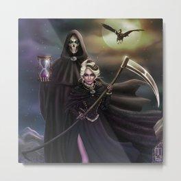 Grim Reapers Metal Print