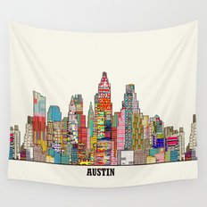 Austin texas Wall Tapestry