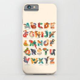 Aerialphabet (labelled) iPhone Case