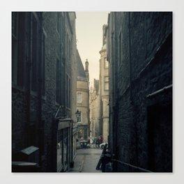 Edinburgh after the rain Canvas Print