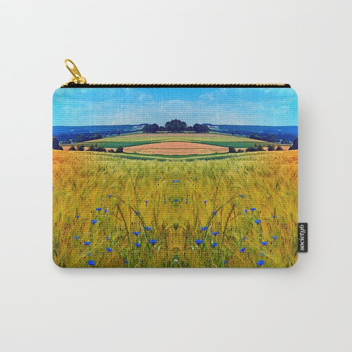 Fields of summer with flowers and scenery Carry-All Pouch