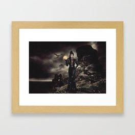 Team Evil Framed Art Print