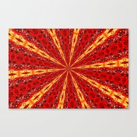 novelty Canvas Prints featuring FALL KALEIDOSCOPE  by Teresa Chipperfield Studios