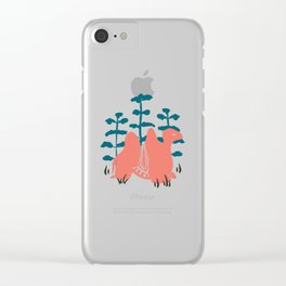 Mongolian Camel Clear iPhone Case