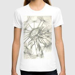 Grey Dandelion T-shirt